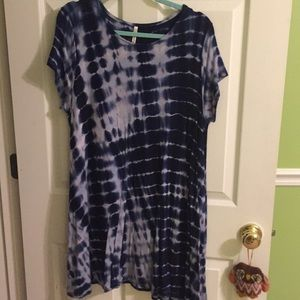Tye-Dye t-shirt dress